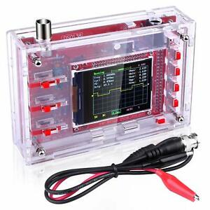 Quimat Dso138 Pocket size Digital Oscilloscope Kit Open Source 2 4 Tft 1msps Wi