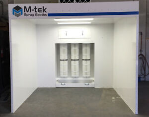 New Powder Coating Booth Paint Spray Booth Made In The Usa