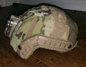 Ops-Core FAST SM Military Bump Helmet w First spear cover and Hel-star 6