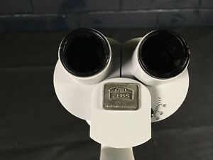 Carl Zeiss F 125 Binocular Head For Operation Microscope Sl