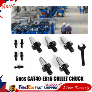 5pcs Cat40 er16 Collet Chuck tool Holder For Cnc 2 75 Cat Holders Toolholding