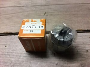 Pair Of Er40 Collet Japan Made 15mm