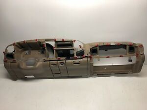 1998 1999 2000 2001 Dodge Ram Truck Tan Plastic Dash Core Structure