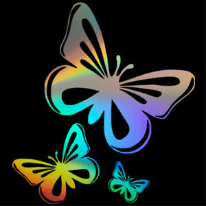 Charm Butterfly Decal Car Window Laptop Auto Truck Door Wall Vinyl Sticker Decor