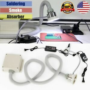 Strong Absorption smoke Absorber Soldering Fume Remover Extractor Filter 30w New