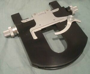 Carl Zeiss Microscope Stage And Slide Holder