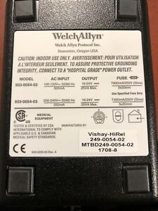Welch Allyn Propaq Charger For Encore Series Monitors Used model 503 0054 02