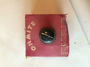 New Vintage Ohmite Rheostat Potentiometer Re19607 Re 19607 lb16