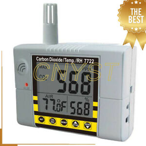 Co2 Temperature Humidity Meter Carbon Dioxide Detector Air Quality Analyzer