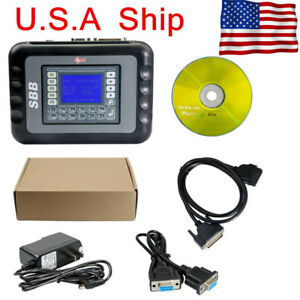 Usa Ship S b b V46 02 Auto Programmer Tool Support G Chip With Multi langauges