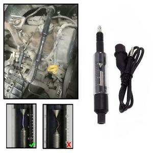 Car Sparking Plug Tester Spark Plug Checker Coil Engine In Line Diagnostic Tool