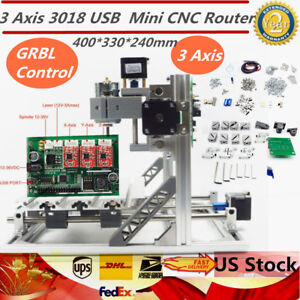 Desktop 3 Axis 3018 Usb Diy Mini Cnc Router Milling Engraver Machine er11