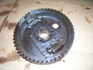 Vintage Ji Case 210 B Tractor governor Weights Camshaft Gear 1958