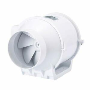 Honguan 4 Inch Extractor Fan High Efficiency Mixed Flow Ventilation System Exha