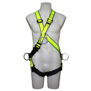 Safewaze Fs9000 cos Crossover style Positioning climbing Harness With Aluminum