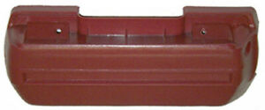 New 1968 1969 Chevrolet Camaro Armrest Base Driver Side Red 11 Inches Please Mea