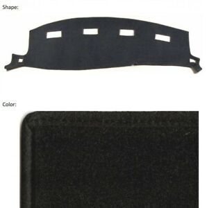 Black Carpet Dash Cover Custom Fit Dodge Ram 1500 Pickup 2002 2005 11 131 In 01