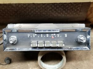 1960 1961 1962 1963 Dodge Radio Dart Matador Polara Am Push Button Untested 328