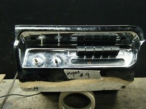 1957 58 Plymouth Mopar Dash Oem Radio Untested Lot 9