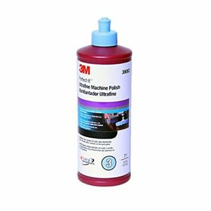 3m 39062 Perfect it Ultrafine Machine Polish 16 Oz