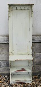 Antique Hall Tree Pinewood Bench Rustic Shabby Chic Storage Reclaimed