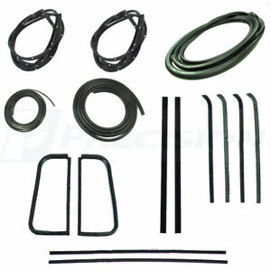 1955 1959 Chevrolet Gmc Pickup Truck Complete Weatherstrip Seal Kit New