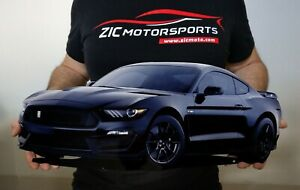 2019 Ford Mustang Shelby Cobra Gt350 Cutout Garage Steel Sign 23 X 10 Black