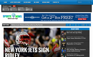 Sports News Magazine Website For Sale Hosting Included