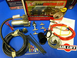 Air Lift 25854 Single Load Level Controller On Board Compressor System Hevy Duty