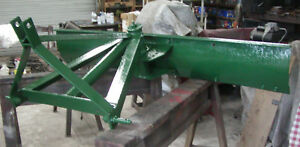 6 3 point Hitch Adjustable Grader Blade 72 Inch 3pt 6 Foot Scraper Blade