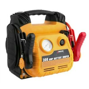 Wagan 2467 300 Amp Jump Starter With Air Compressor