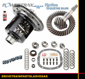 Limited Slip Posi Gm Chevy 7 6 Grip Ls 3 73 Motive Gear Set Master Bearing Kit