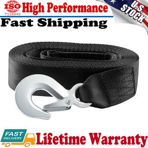 Deluxe Boat Trailer Replacement Winch Strap 10000 Lbs 2 X20 Snap Hook Quick Us