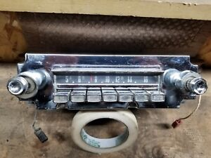 1959 1960 1961 1962 Chrysler Radio Imperial Newport 300 New Yorker 319