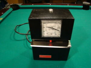 Lathem 3021 Automatic Punch stamp Employee Time day Clock