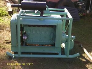 Detroit Deisel 6 71 Power Unit 671 Sawmill Engine Runs Well