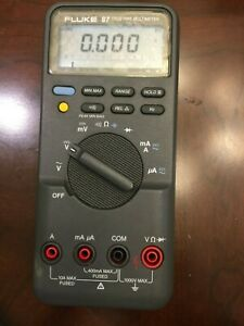 Fluke 87 True Rms Multimeter Tested Working Condition Screen Protector