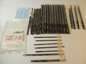 Aircraft Tools 30 Each Hss Spiral Reamers Sizes 0 166 To 0 468 lot A 8