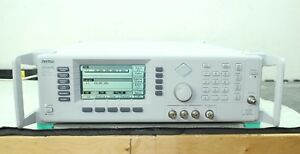Anritsu 68369a nv c Synthesized Sweeper Signal Generator 10 Mhz 40 Ghz Cal d 2b