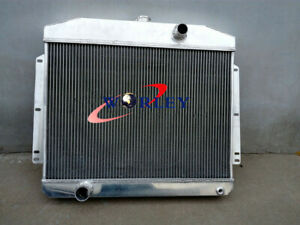 62mm Aluminum Radiator For Mercury Car W Ford 302 V8 1949 1950 1951 Manual