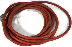 Gates 6b 1 X 50 Air Water Hydraulic Hose With Parker Sh8 62 63 Couplings