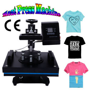 Digital Transfer Sublimation T shirt Heat Press Machine For Diy Cool Pattern Us