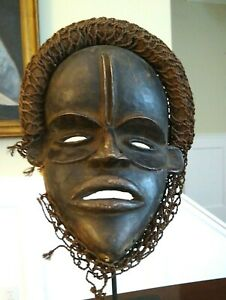Old African Dan Mask C Te D Ivoire Early To Mid 20th Century