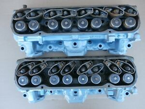 1973 Pontiac Cylinder 46 Heads 400 428 389 350 96cc Pair Firebird Lemans Engine