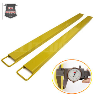 84 Long And 4 5 Wide Pallet Fork Extensions Fit For Forklifts Lift Truck Slid