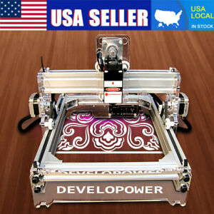 Laser Engraver Cutting Machine 2000mw Desktop Mark Logo Engraving Printer