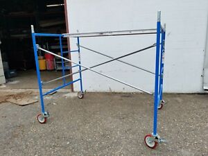 6 Set Of New Bon 5 X 5 X 7 And X 10 Scaffolding Frame Set W aluminum Planks