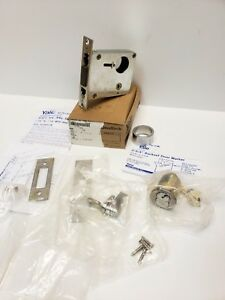 Yale 315 Single Cylinder And Thumbturn Auxiliary Mortise Deadbolt Satin Finish