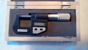 Craftsman Digital Micrometer