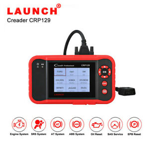 Launch Crp129 Obd2 Scanner Auto Code Reader Abs Airbag Engine Transmission